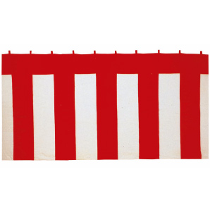 紅白幕90×900cm